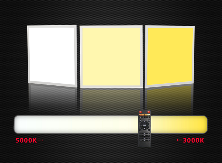 600x1200  CCT Tunable  LED PANEL